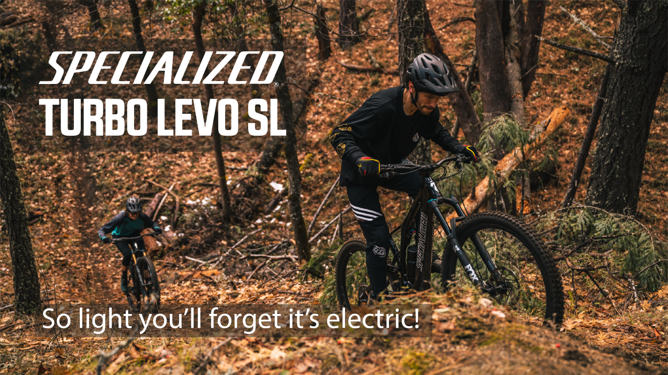 Specialized Turbo Levo SL - So Light you'll forget it's electric!