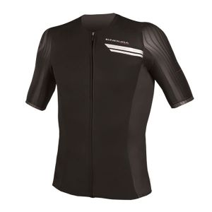 Endura QDC Drag2Zero Short Sleeve Jersey - (Black)