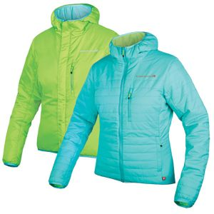 Endura Womens FlipJak Reversible Jacket - (Turquoise)