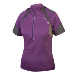 Endura Womens Hummvee II Short Sleeve Jersey - (Purple)