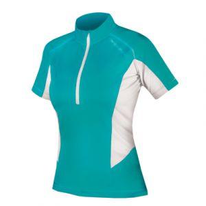 Endura Womens Pulse Short Sleeve Jersey - (Teal)