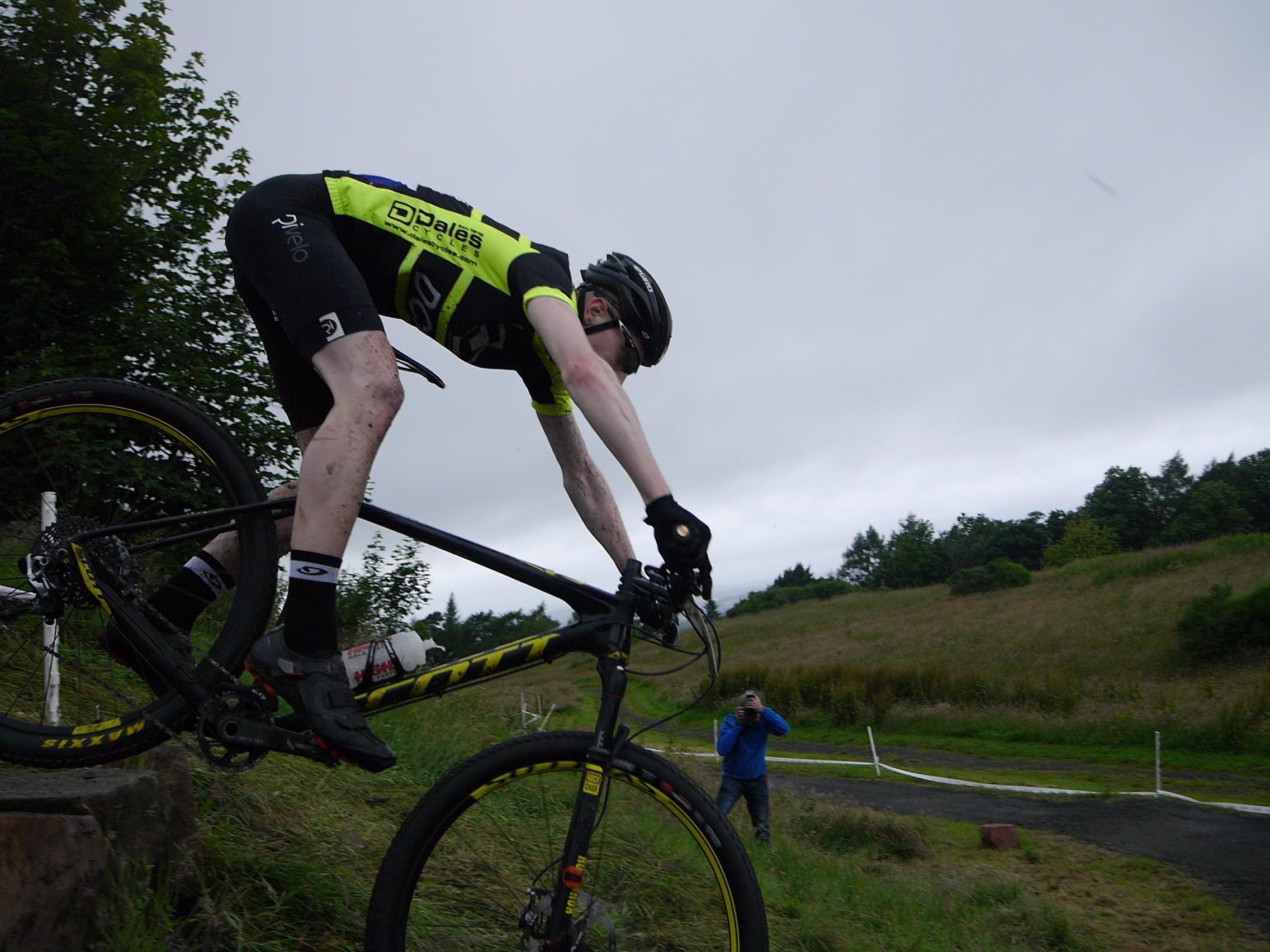 Tim Shoreman DCRT rider